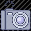 camera, photo, digital, dslr icon
