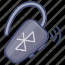 handsfree, bluetooth, wireless, earphone icon