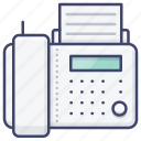 machine, device, phone, fax icon