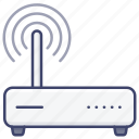 wifi, router, wireless, modem icon
