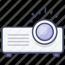 slideshow, device, presentation, projector icon
