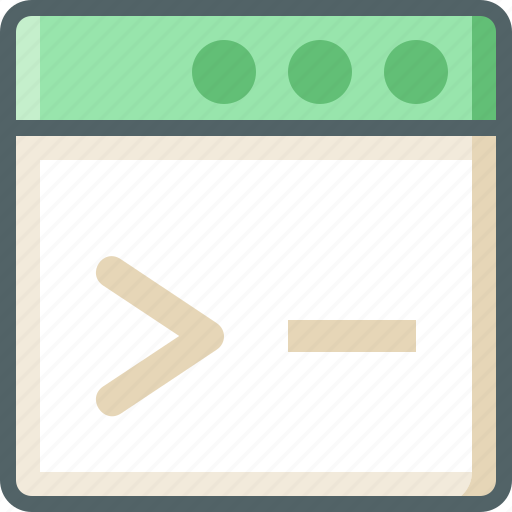 application, code icon