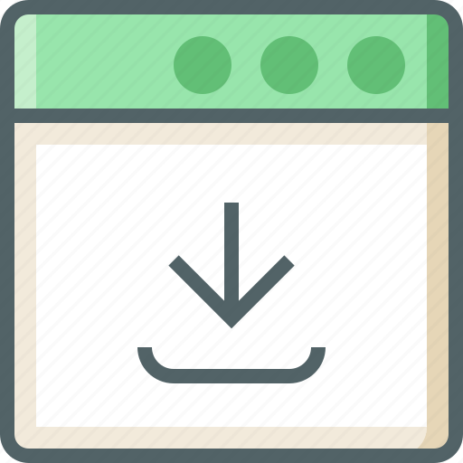 application, download icon