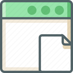 application, file icon
