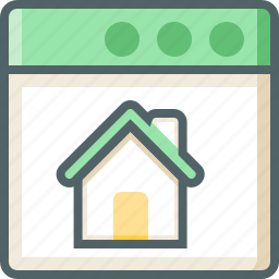 application, house icon