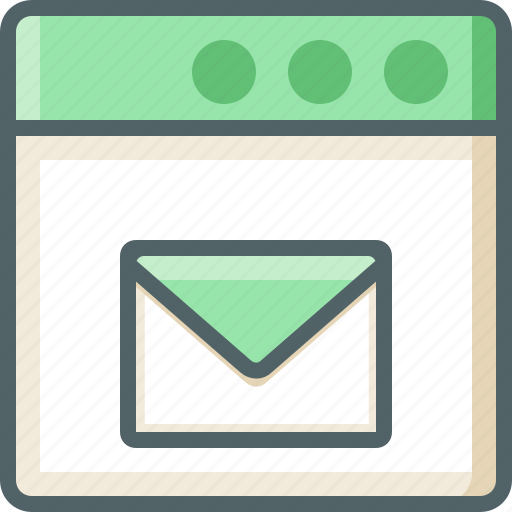 application, mail icon