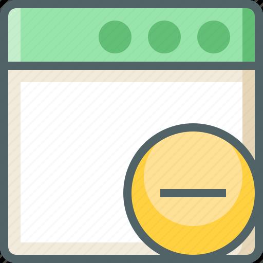 application, remove icon