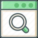 application, search