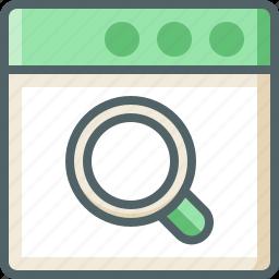 application, search icon