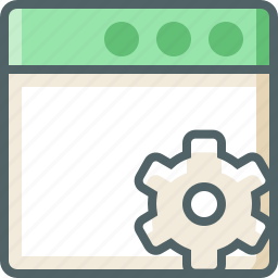 application, setting icon