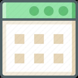 application, square icon