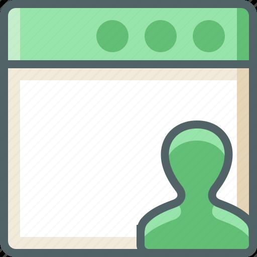 application, user icon