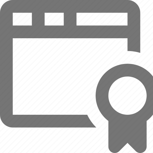 bookmark, ribbon, window icon