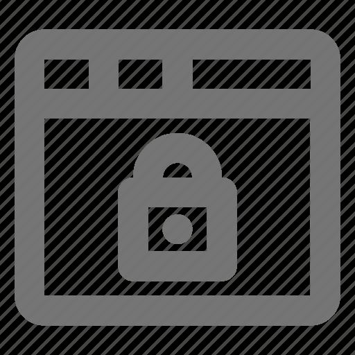 lock, security, window icon