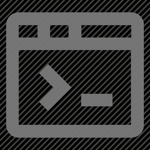 programming, window icon