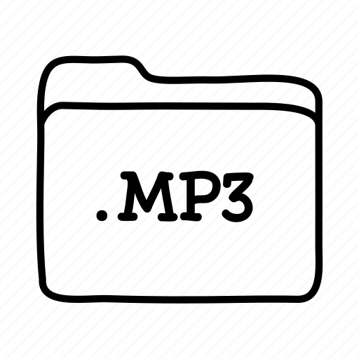 .mp3, files, folder, folders, format, mp3, music file icon