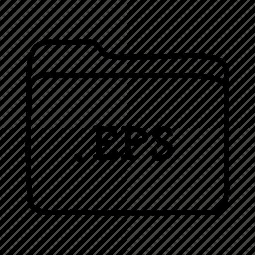 application, eps, files, folder, folders, format icon