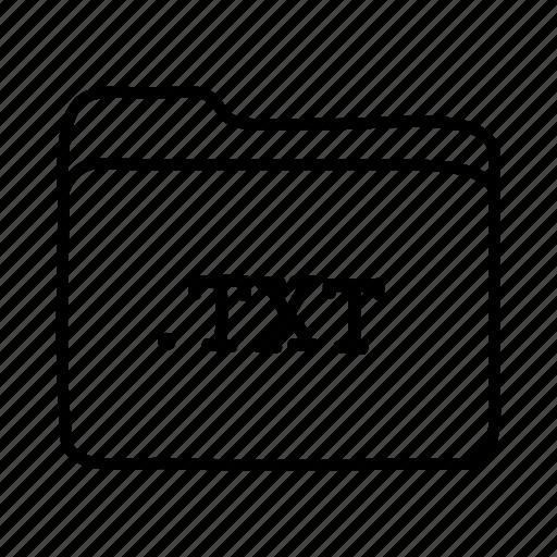 .txt, application, files, folder, folders, format, text file icon