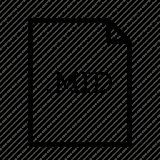 .mid, application, download, file, files, format, midi file icon