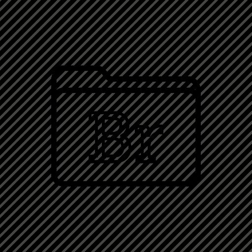 adobe bridge, application, bridge, files, filetype, folder, folders icon