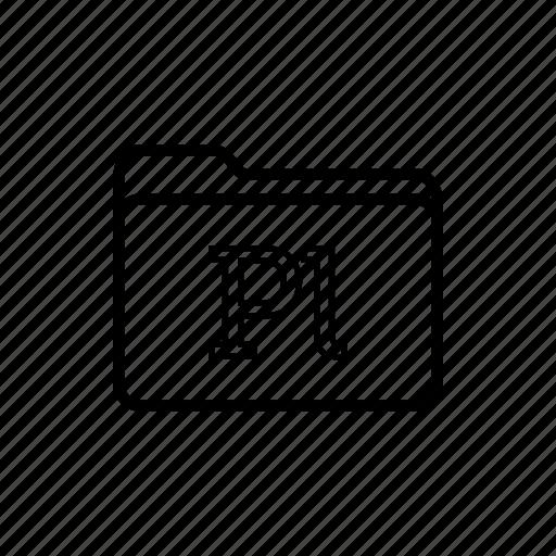 adobe, application, files, filetype, folder, folders, prelude icon