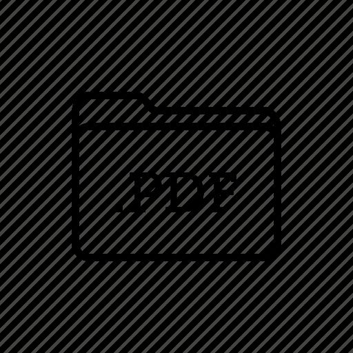 application, files, filetype, folder, folders, pdf files icon