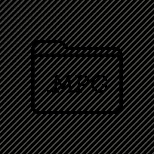 .mpg, application, files, filetype, folder, folders, mpeg icon