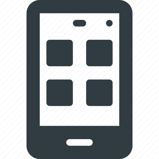 application, apps, mobile, tile icon