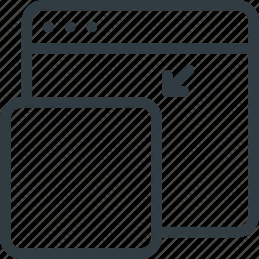 Minimize, window icon - Download on Iconfinder on Iconfinder