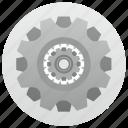 engine, gear, option, options, settings