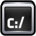command, command prompt, prompt, terminal icon