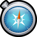 apple, browser, chrome, compass, mac, safari icon