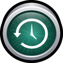 back up, mac, machine, restore, time icon