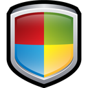 center, security, shield, windows icon