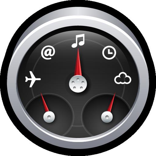 dashboard, dock, gadgets, mac, widgets icon
