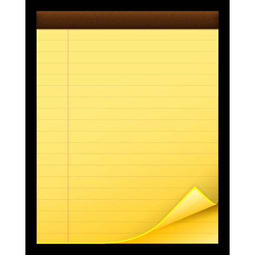 mac, notes, postit, reminders, sticky icon