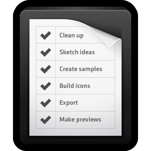 list, mac, notes, reminders, to-do icon