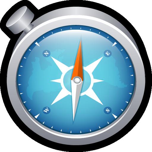 apple, browser, chrome, compass, mac, safari icon