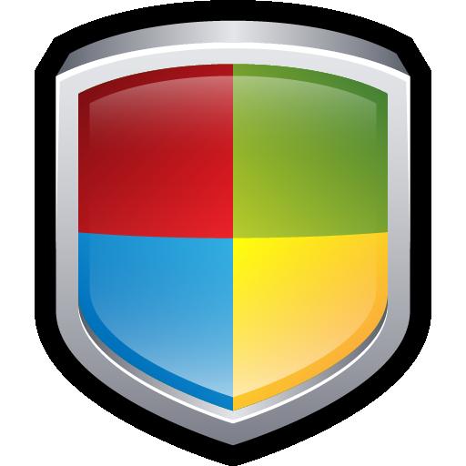 center, security, shield, windows icon