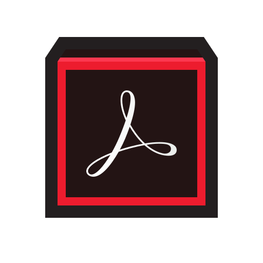 actobat, adobe, dc, pdf, pro icon