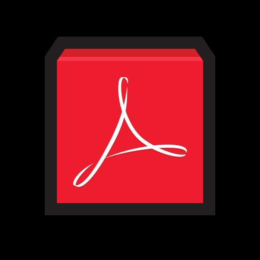 actobat, adobe, pdf, reader icon