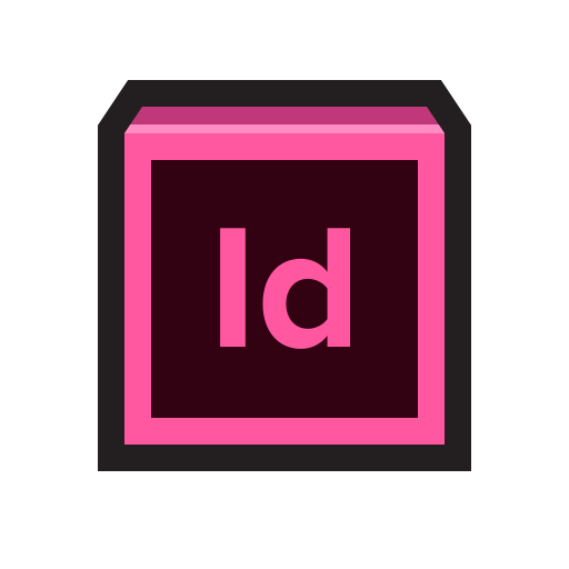 Adobe, indesign, layout, magazine, publish icon - Free download