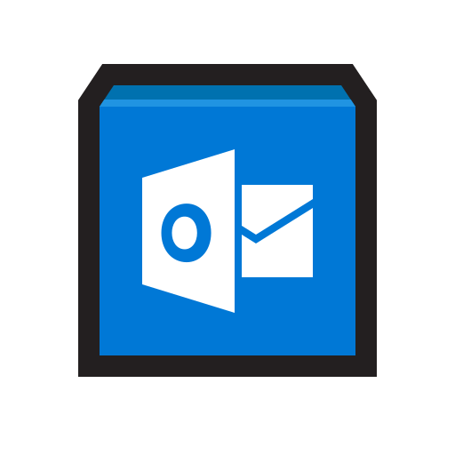 Email, mail, microsoft, outlook icon - Free download