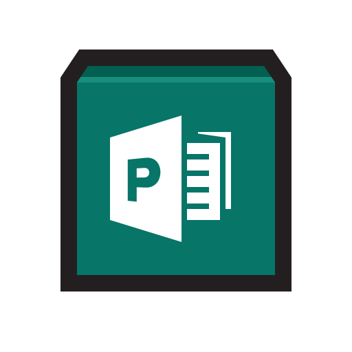 Draw, graphics, layout, microsoft, publisher icon - Free download