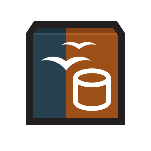 Base, database, library, openoffice icon - Free download