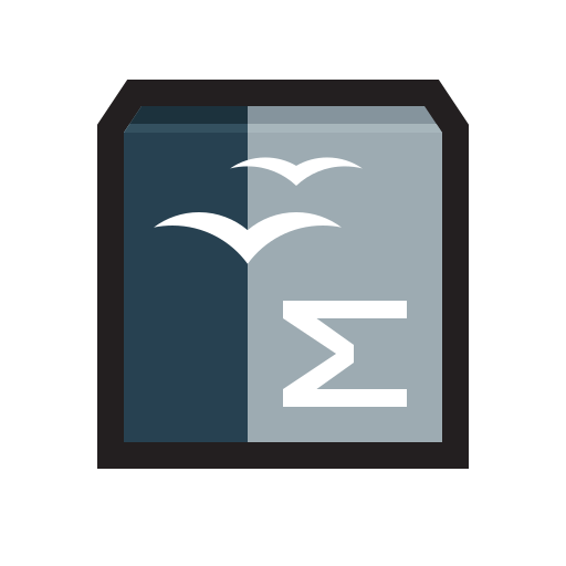 calc, excel, formula, math, openoffice icon