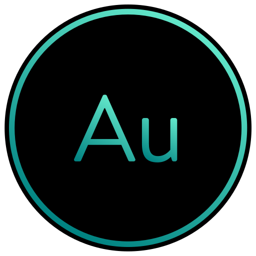 adobe, audio, audition, editing, sound icon