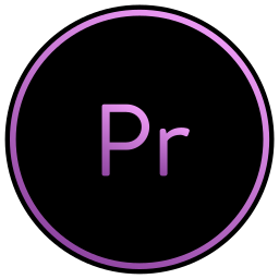 adobe, editing, movies, premiere, video icon