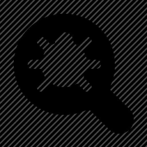 bug, debug, find, fix, programming, search, virus icon