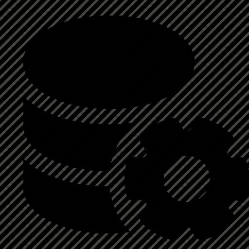 applications, base, cog, config, data, database, programming icon